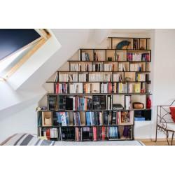 Meuble Bibliothèque sur-mesure (H239cm - L264 cm)