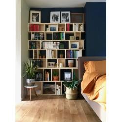 Meuble Bibliothèque sur-mesure (H203cm - L150 cm)