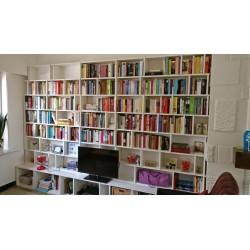 Meuble Bibliothèque sur-mesure (H218cm - L270 cm)