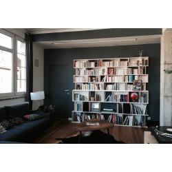 Meuble Bibliothèque sur-mesure (H218cm - L233 cm)