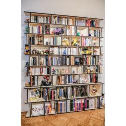 Meuble Bibliothèque sur-mesure (H254cm - L181 cm)