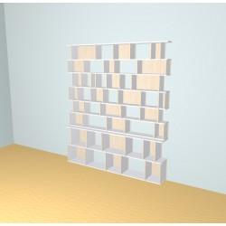 Meuble Bibliothèque sur-mesure (H230cm - L201 cm)