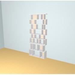 Meuble Bibliothèque sur-mesure (H230cm - L101 cm)