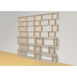 Bookshelf (H209cm - W210 cm)
