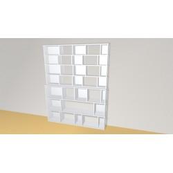 Bookshelf (H212cm - W166 cm)