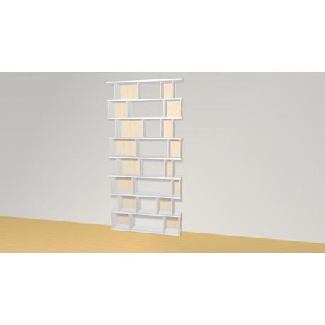 Bibliothèque (H204cm - L102 cm)