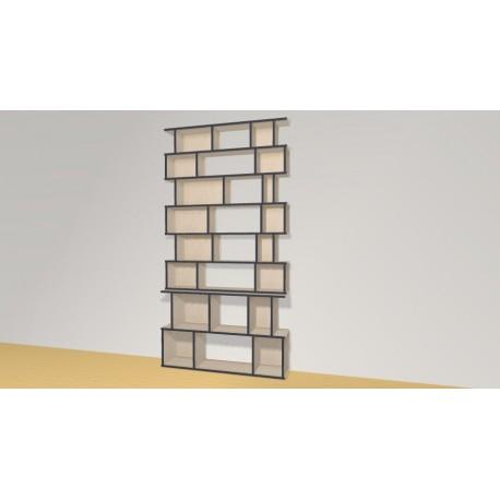 Bibliotheek (H230cm - B120 cm)