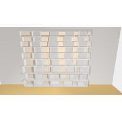 Bibliothèque (H272cm - L325 cm)