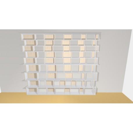 Bibliotheek (H272cm - B325 cm)