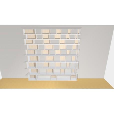 Bookshelf (H272cm - W271 cm)