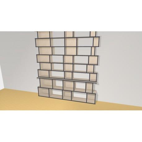 Bookshelf (H277cm - W210 cm)