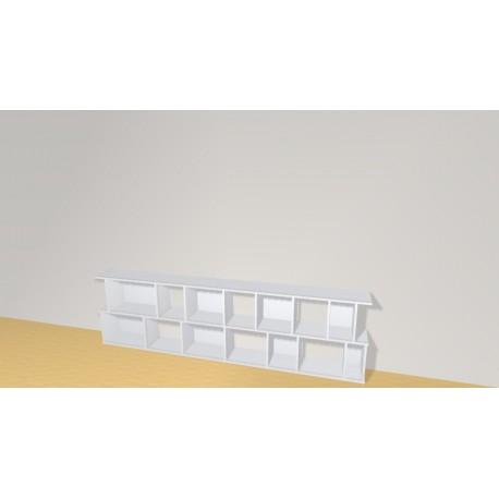 Bookshelf (H73cm - W260 cm)