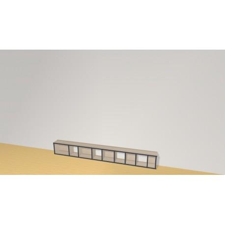 Bookshelf (H29cm - W230 cm)