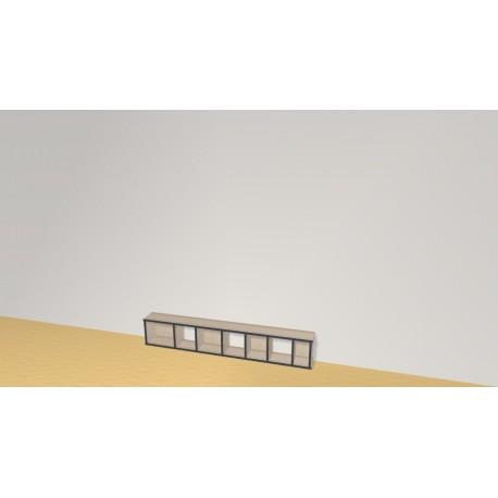 Bibliothèque (H29cm - L170 cm)