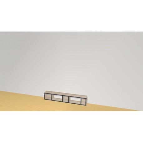 Bibliothèque (H26cm - L150 cm)