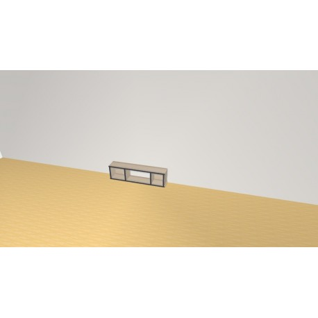 Bookshelf (H26cm - W96 cm)