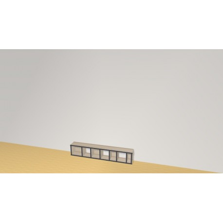 Bookshelf (H26cm - W140 cm)