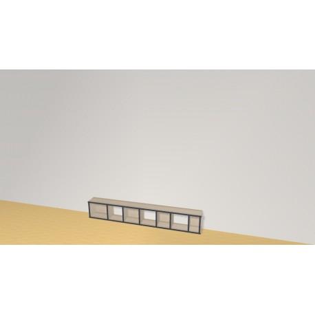 Bookshelf (H29cm - W180 cm)