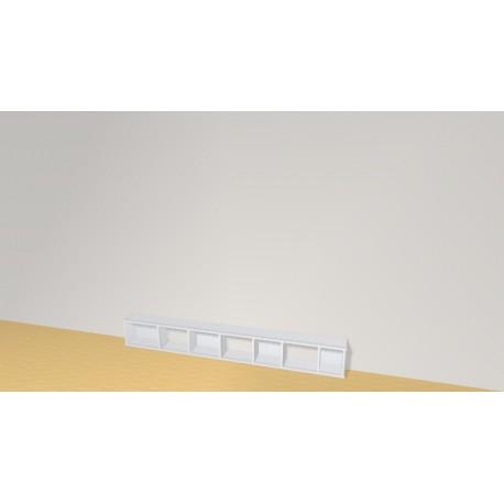 Bookshelf (H29cm - W221 cm)