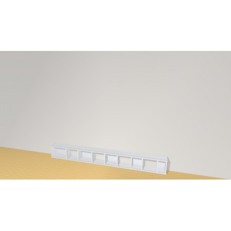 Bookshelf (H29cm - W252 cm)