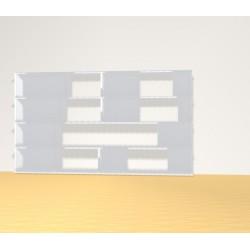 Bibliothèque (H109cm - L191 cm)