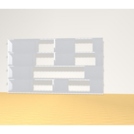 Bookshelf (H109cm - W191 cm)