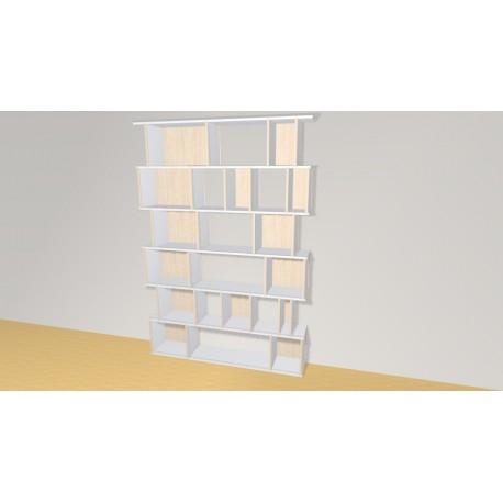 Bibliotheek (H217cm - B150 cm)