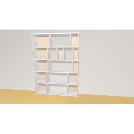 Bookshelf (H136cm - W100 cm)