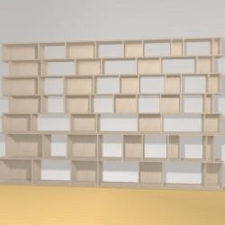 Meuble Bibliothèque sur-mesure (H200cm - L312 cm)