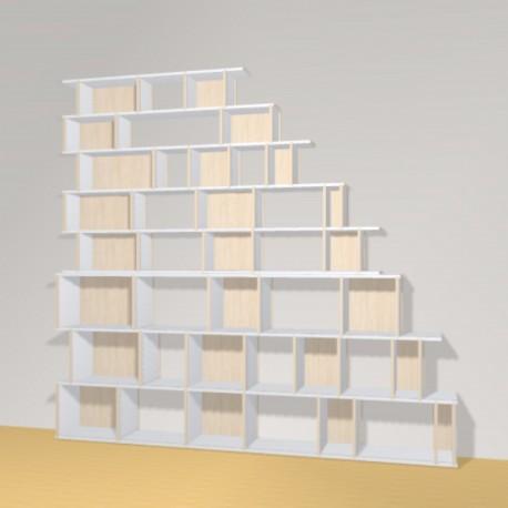 Meuble Bibliothèque sur-mesure (H239cm - L257 cm)
