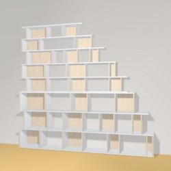 Bookshelf (H239cm - W257 cm)