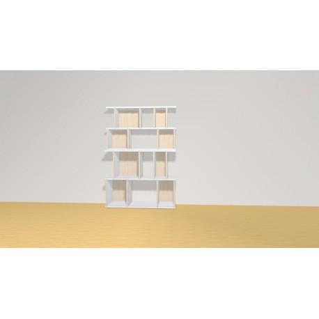 Bibliothèque (H129cm - L90 cm)