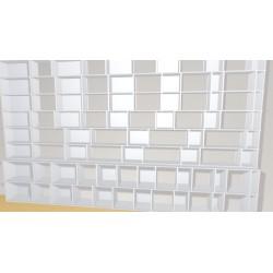 Bibliothèque (H236cm - L401 cm)