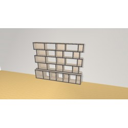 Bookshelf (H141cm - W180 cm)