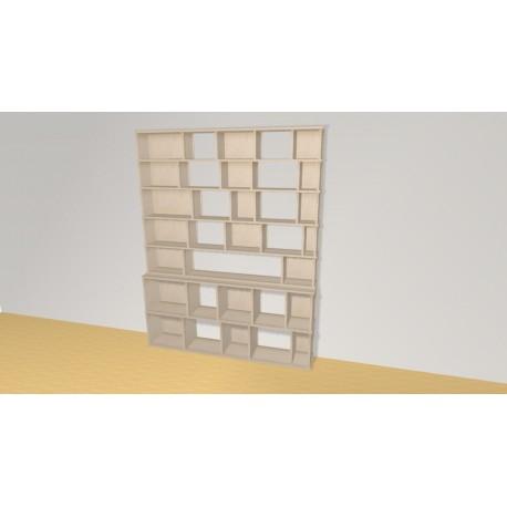Bibliotheek (H203cm - B161 cm)