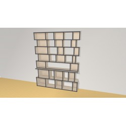 Bookshelf (H203cm - W161 cm)