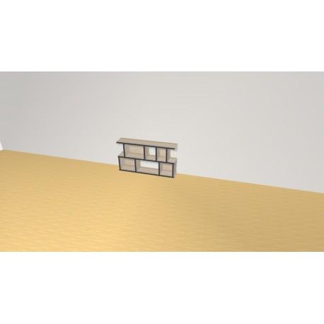 Bookshelf (H49cm - W90 cm)