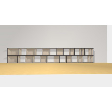 Bookshelf (H73cm - W425 cm)