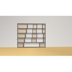 Bibliothèque (H136cm - L160 cm)