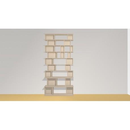 Bibliothèque (H257cm - L120 cm)