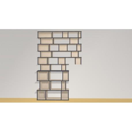 Bookshelf (H260cm - W168 cm)
