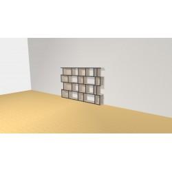 Bibliothèque (H103cm - L153 cm)