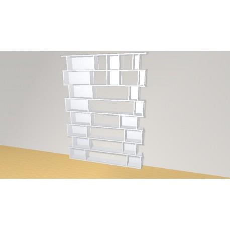 Bookshelf (H216cm - W159 cm)