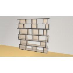 Bookshelf (H200cm - W190 cm)