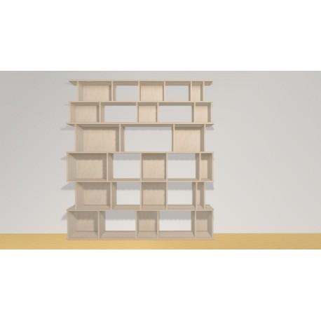 Bibliothèque (H200cm - L183 cm)