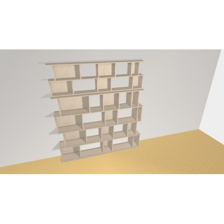 Bookshelf (H200cm - W181 cm)