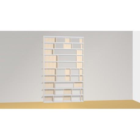 Bookshelf (H261cm - W161 cm)