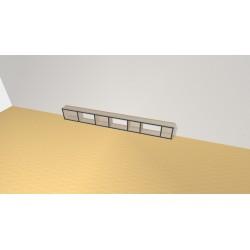 Bookshelf (H29cm - W248 cm)