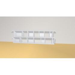 Bookshelf (H73cm - W238 cm)