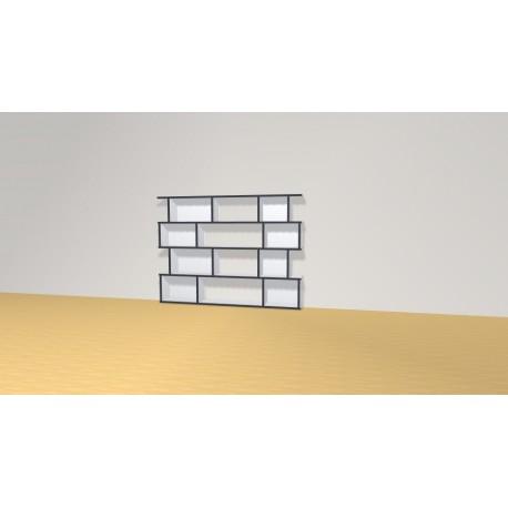 Bibliothèque (H103cm - L138 cm)